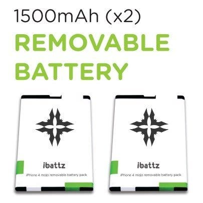 iBattz additional battery packs