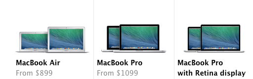 MacBook Air and Pro