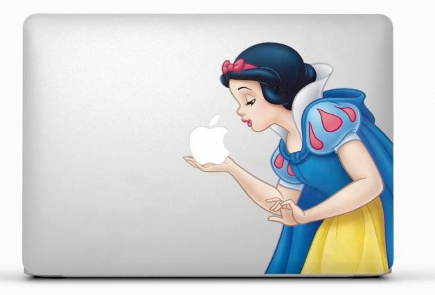 Snow White MacBook