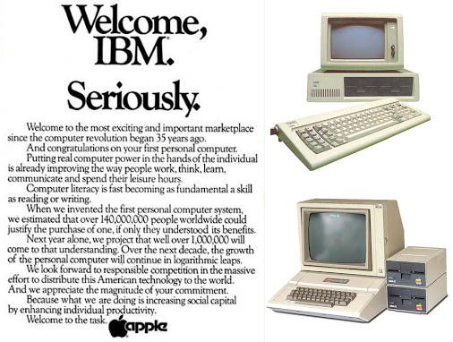 IBM vs Apple
