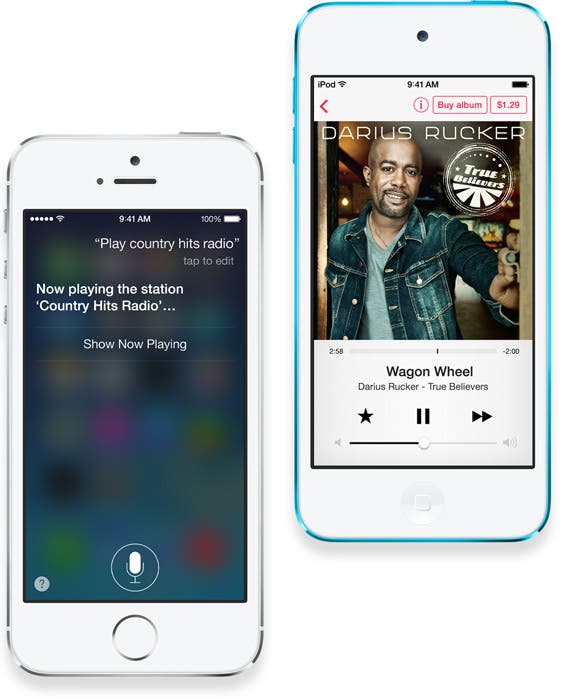 iTunes Radio and Siri
