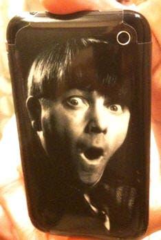 iMoe phone from SkinIt