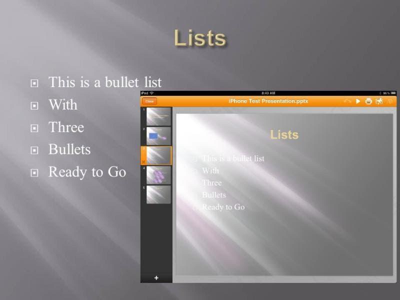 Slide 3: Lists