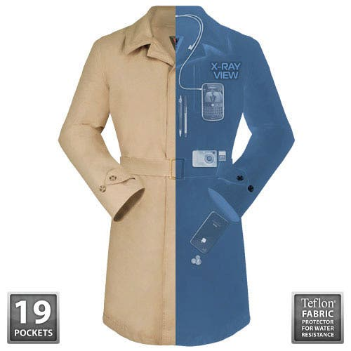 SCOTTEVEST Trench Coat Transforms You into Inspector