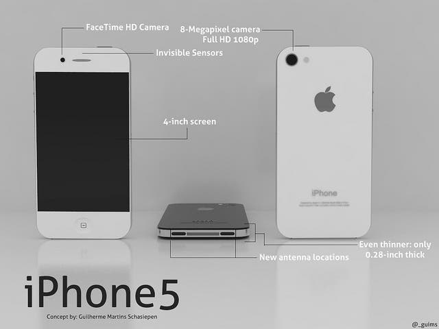 The New iPhone concept design. https://secure.flickr.com/photos/guilhermescha/