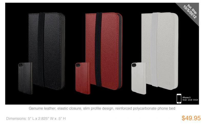 HEX Axis wallet for the iPhone 5