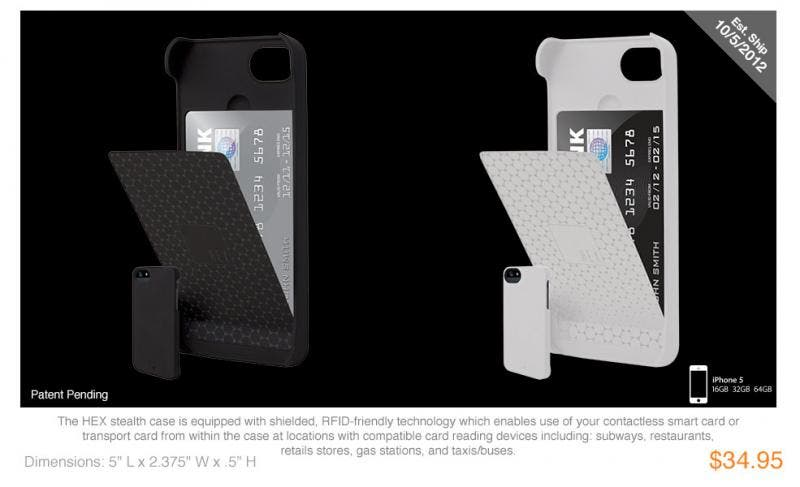 HEX Stealth for the iPhone 5