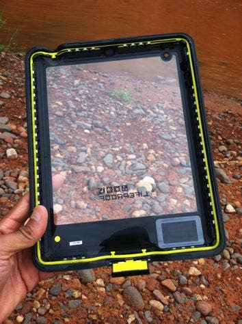 The nüüd. Lifeproof's entry into the iPad case market steals the show.