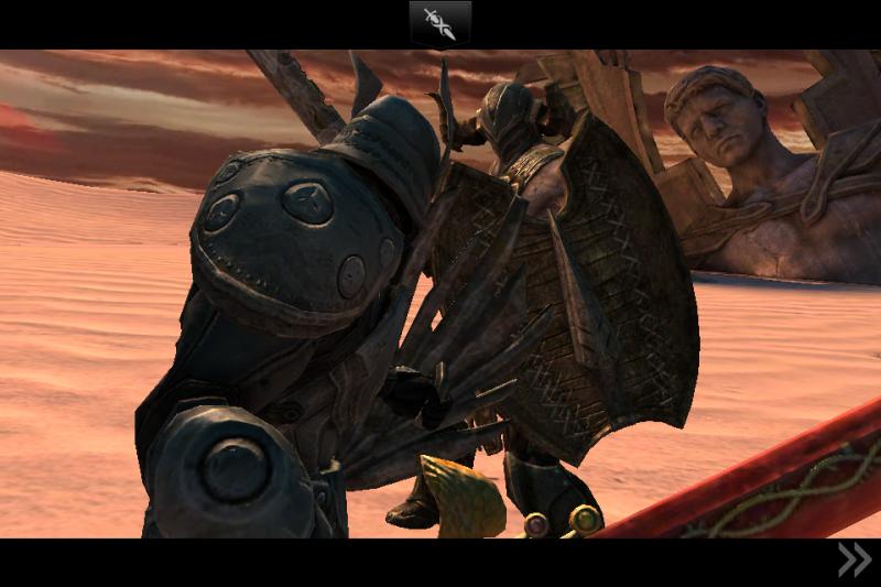 Infinity Blade II: ClashMob Screenshot