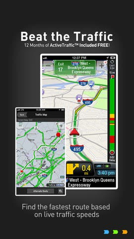 CoPilot navigation apps