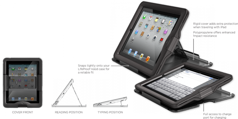 Siva's Reviews: Lifeproof nüüd waterproof iPad case