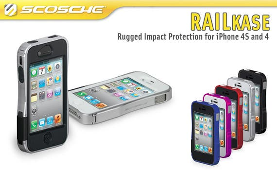 Siva's Reviews: Scosche's RAILKASE for the iPhone 4/4S