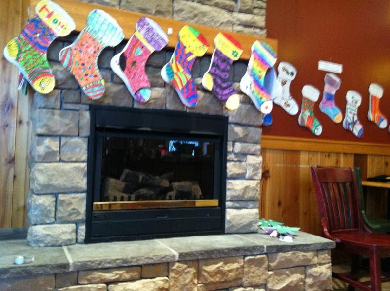 Clark Elementary School's service project