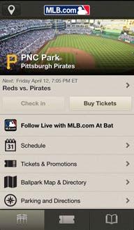 MLB At The Ballpark