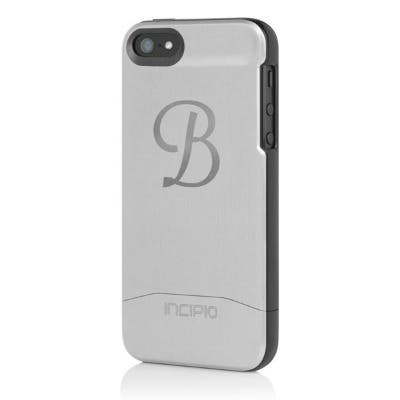 Engraved Initial EDGE SHINE Incipio iPhone 5 Case