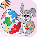Easter Egg Coloring Book App