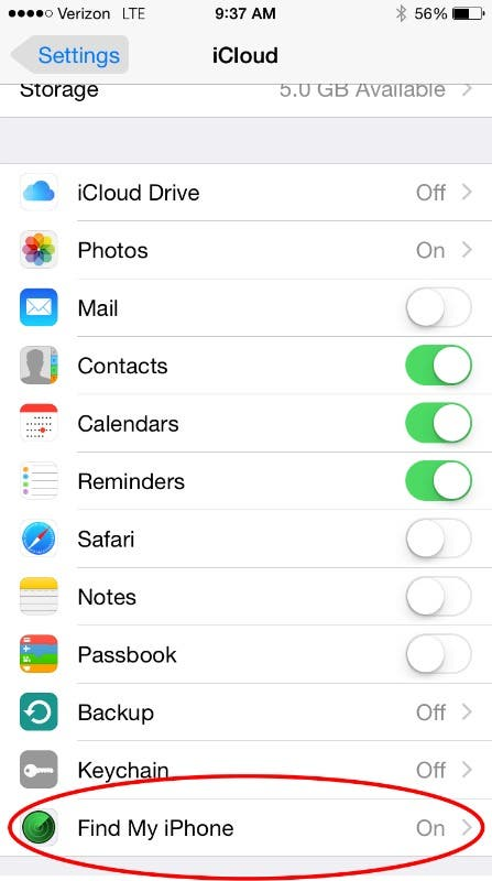 enable find my iphone tip of the day how to keep track of family idevices 14051