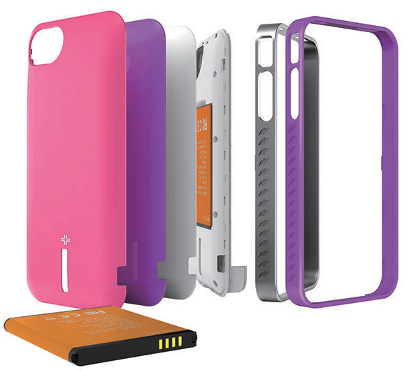 Mojo Vogue Removable Battery Case