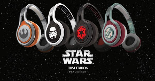 Star Wars SMS Headphones