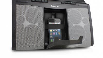 ruckus XL iPhone dock