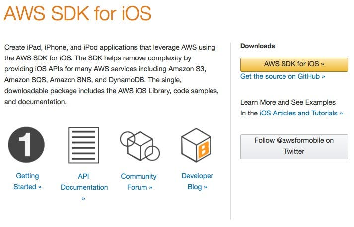 AWS iOS SDK