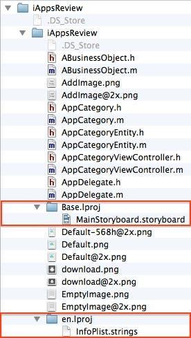 Folder structure 3
