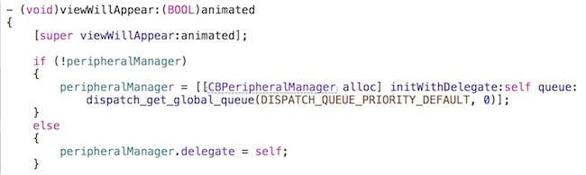 Configuration viewWillAppear