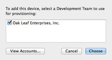 Select a development team