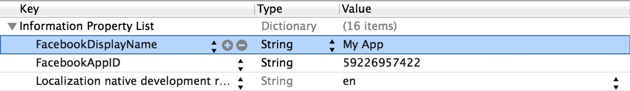 Add Display Name to plist file