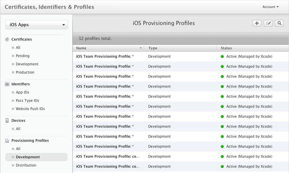Provisioning Files