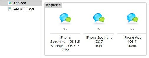 Updated Appicons
