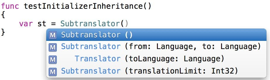 The inherited initializers are back!
