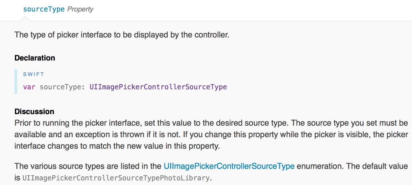 sourceType documentation