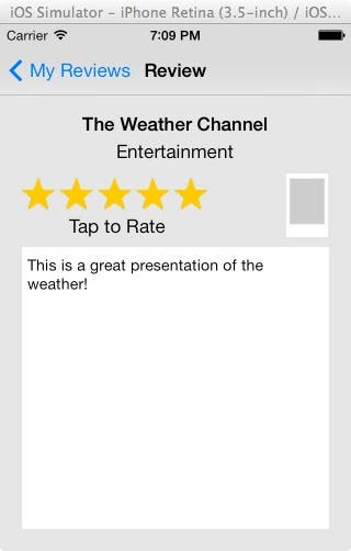Weather channel review