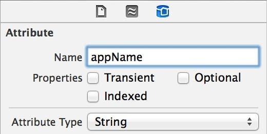 appName attribute settings