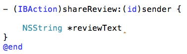 reviewText variable
