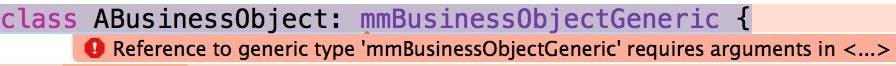 ABusinessObject compiler error