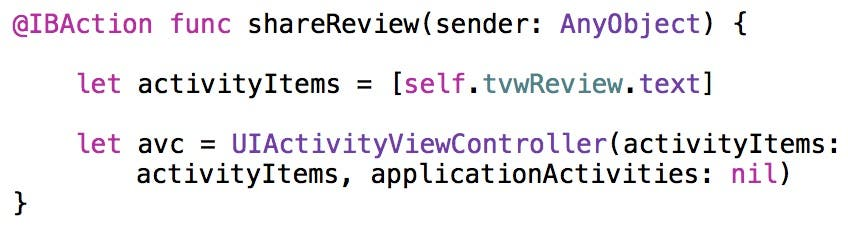 UIActivityViewController completed