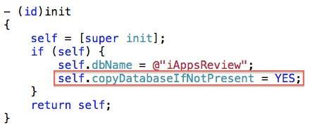 Set Copy Database flag