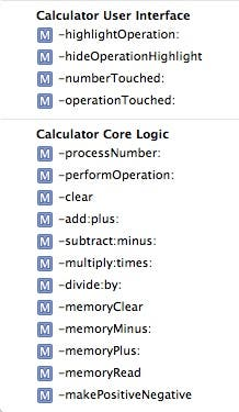 Calculator methods