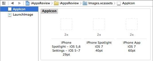 AppIcon image set