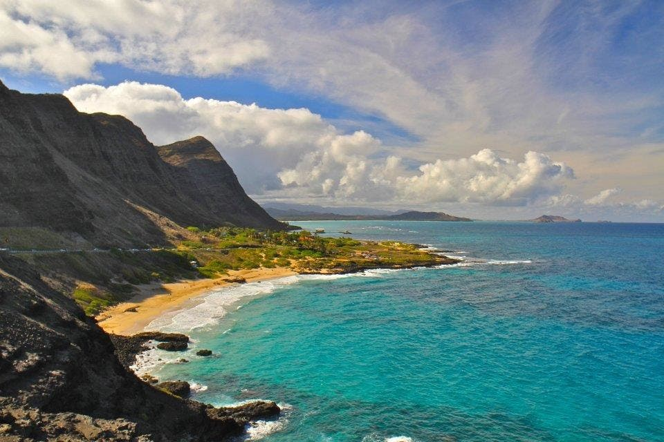 Oahu east shore