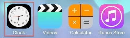 iOS 7 Clock Icon