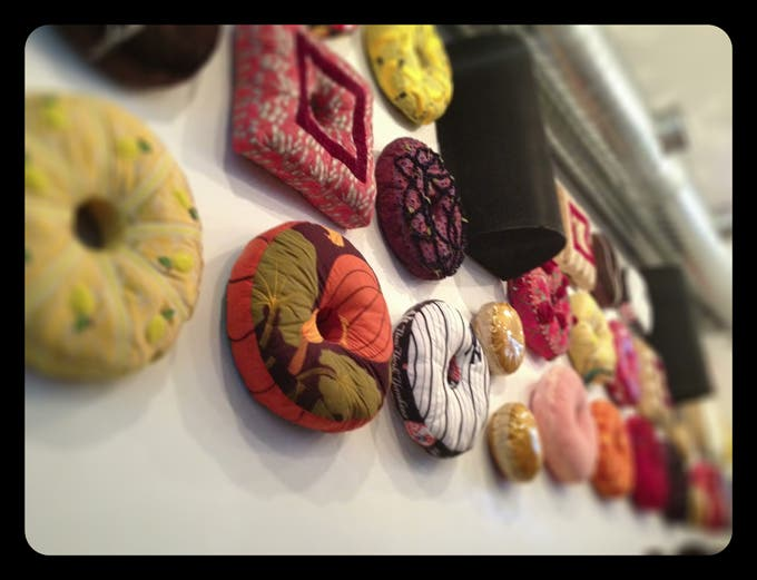 Donut Cushions by Alex Cequea