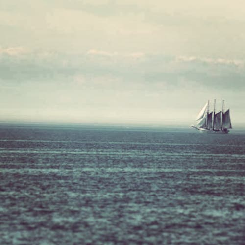Honorable Mention - Tall Ship, Lake Ontario by Pat Riva