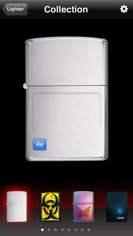 Virtual Zippo Lighter App(Free)