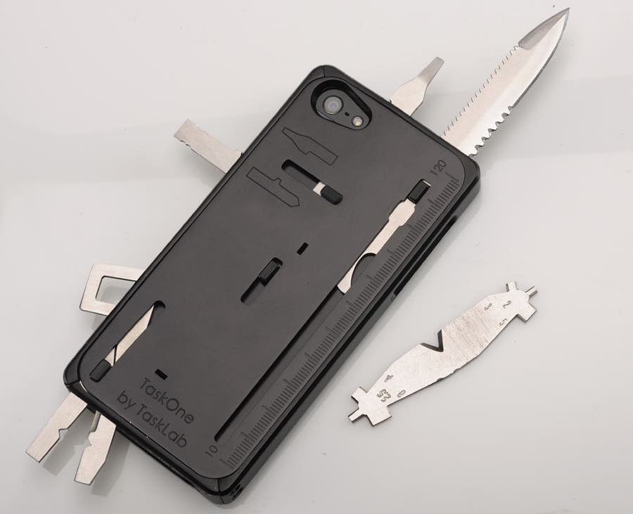 Taskone Iphone Case A Swiss Army Knife For Your Phone