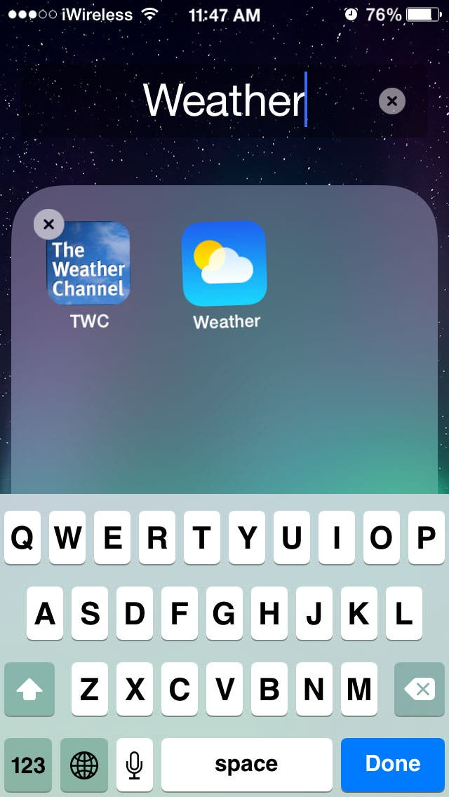 Tip Of The Day How To Organize Apps On Your Iphone