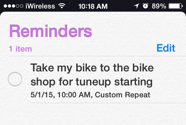 Tip of the Day: How to Create Custom Reminders in iOS Reminders