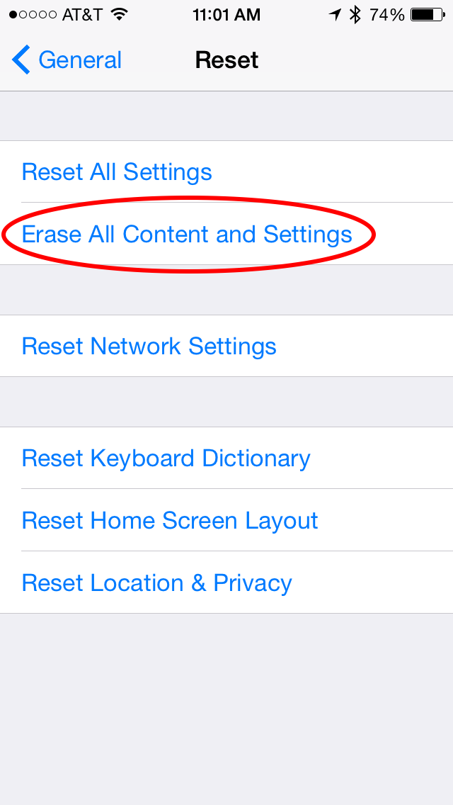 factory reset iphone 6 without passcode tip of the day what to do if you forget your restrictions 18404